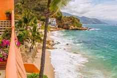 A Villa with a View + Oceanfront + Private Beach + Fabulous Chef + Staff